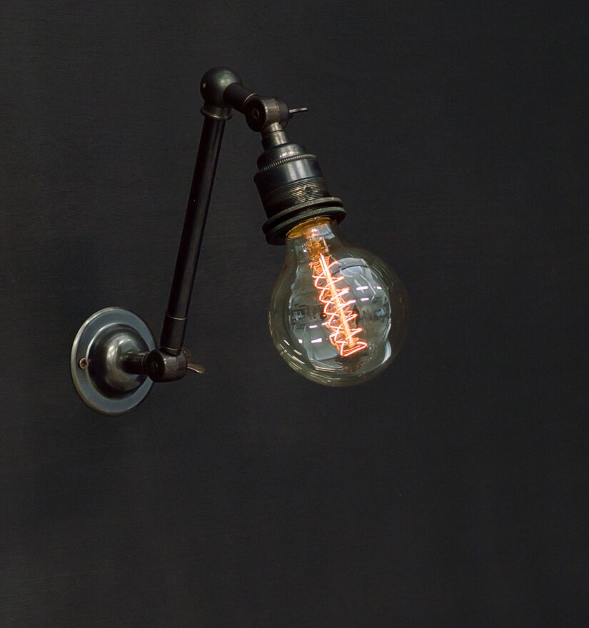 Bare Bulb Double Adjustable