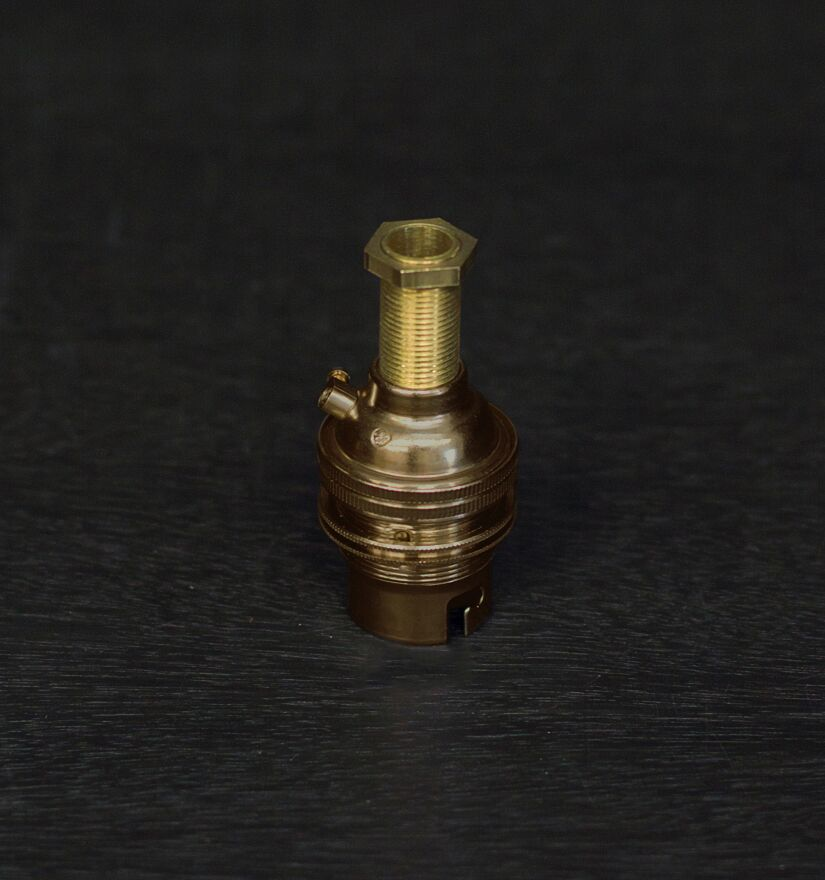 Old Brass BC Threaded