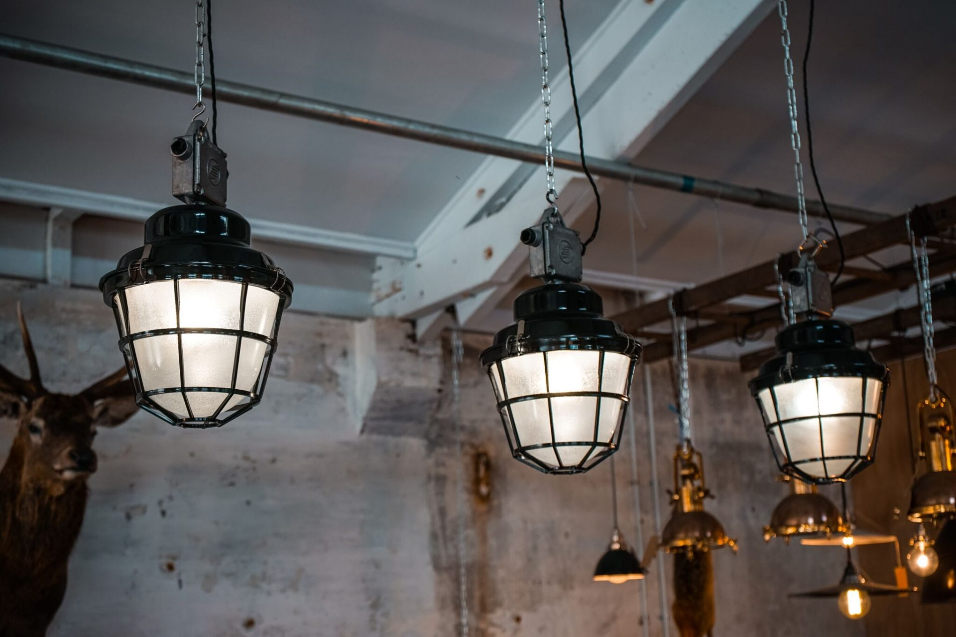 czech industrial lights