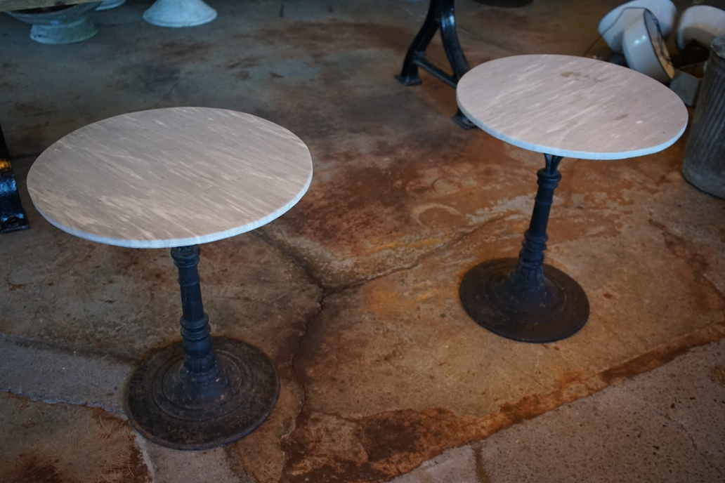 French-Bistro-Table-With-Marble-Top