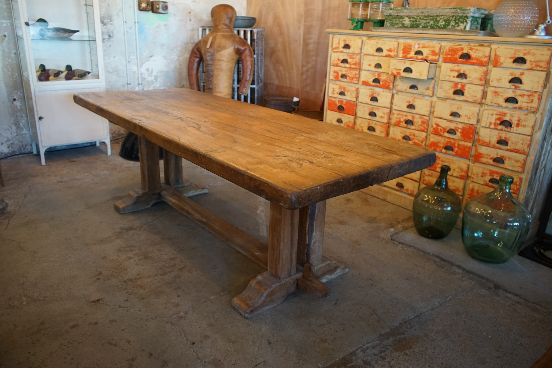 French-Solid-Oak-Refectory-Table1