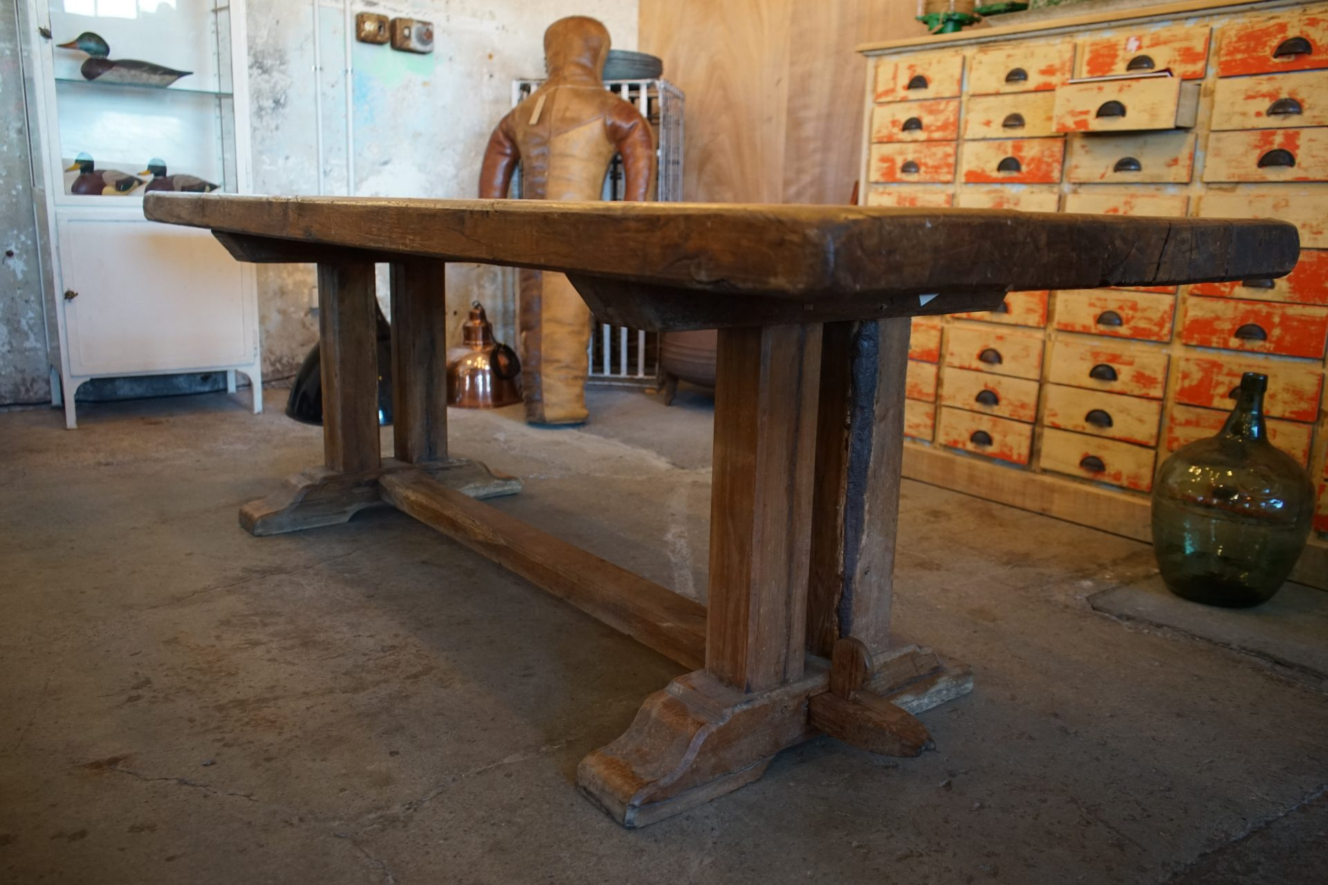 French-Solid-Oak-Refectory-Table3