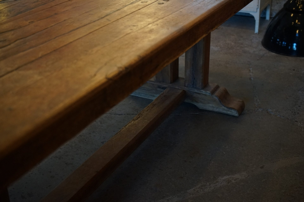 French-Solid-Oak-Refectory-Table5