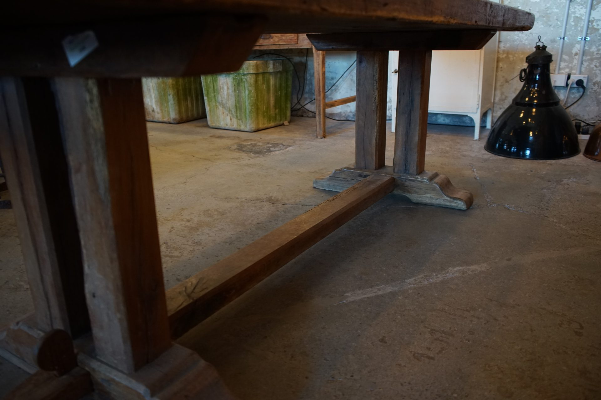 French-Solid-Oak-Refectory-Table7