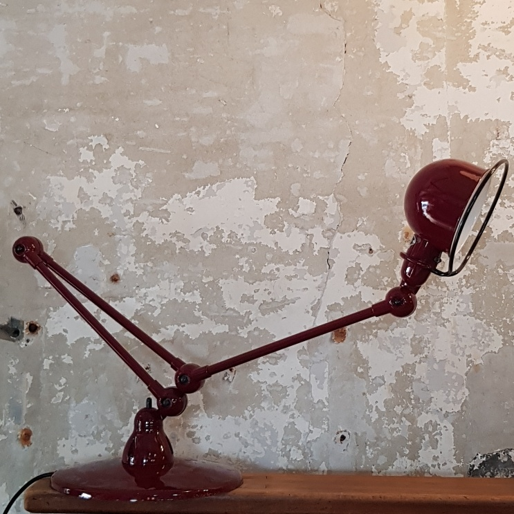 Loft-D9403-Floor-Lamp-Burgundy