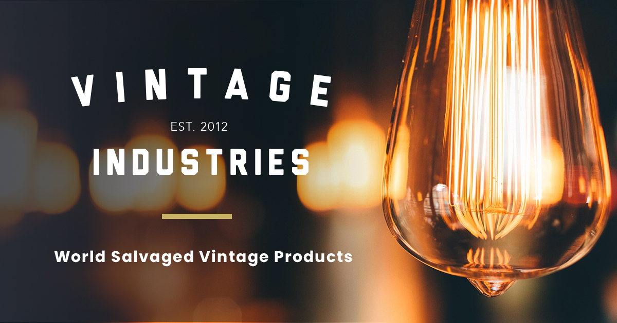 Vintage Industries Lighting Decor