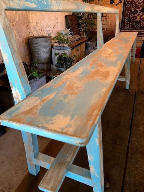 blue-school-bench