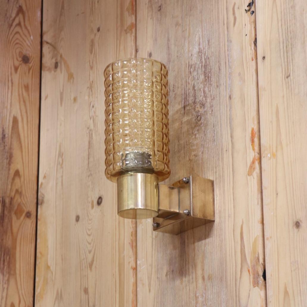 amber-wall-light